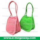 Shoulder Crochet Bags Straw Knitted Crafts Tote Handbags Taschen MegawayBags #CC-1042A
