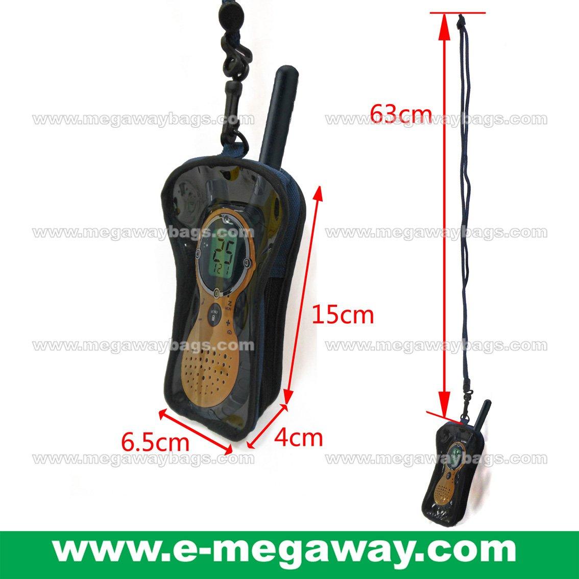 Walkie Talkie Electronics Neck Wallets Waterproof Tools Bags Pouch MegawayBags #CC-1054