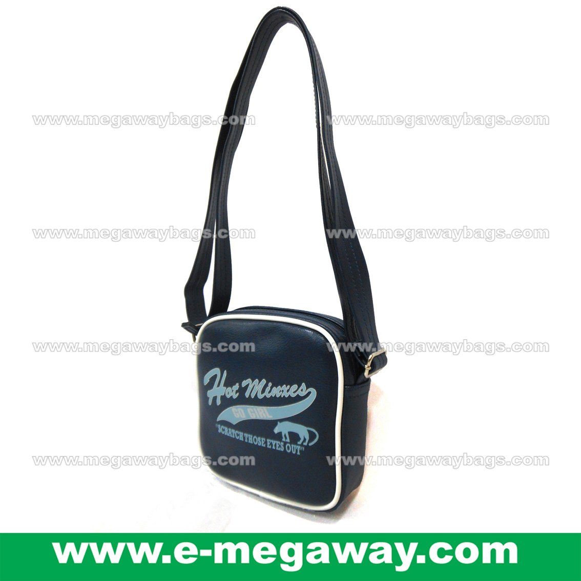 "Mini Size ""Hot Minxes"" Shoulder Cross Body Bags Sling Handbags Tote MegawayBags #CC-1046"