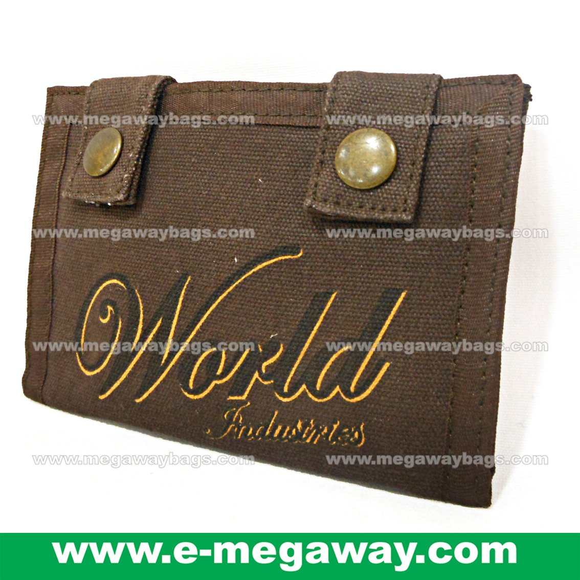 Unisex Purses Wallet w Studs Loop Coins Zip Pouch Bank Cards Money MegawayBags #CC-1058