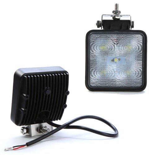 1150lm 15W LED Work Light IP67 12V 24V 5LED bulbs Flood Off road 4WD SUV Truck UTE Driving Work Lamp