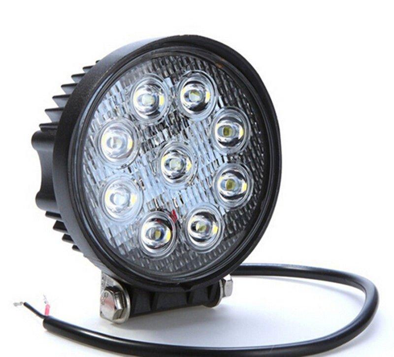 4'' 27W LED Work Lights For Truck 4X4 Off Road LED Light Spotlight 12V 24V Led Tractor Work Light