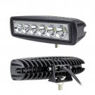 6Inch 18W Led Light Bar Spot Beam Work Light 4WD SUV Off-road Driving Lamp