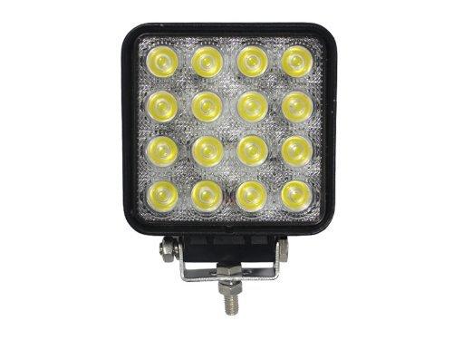 4.5 inch 48W LED Work Light Flood Spot 16X3W 3500lm Tractor Off road Car 4X4 4WD Fog Lamps 12V 24V