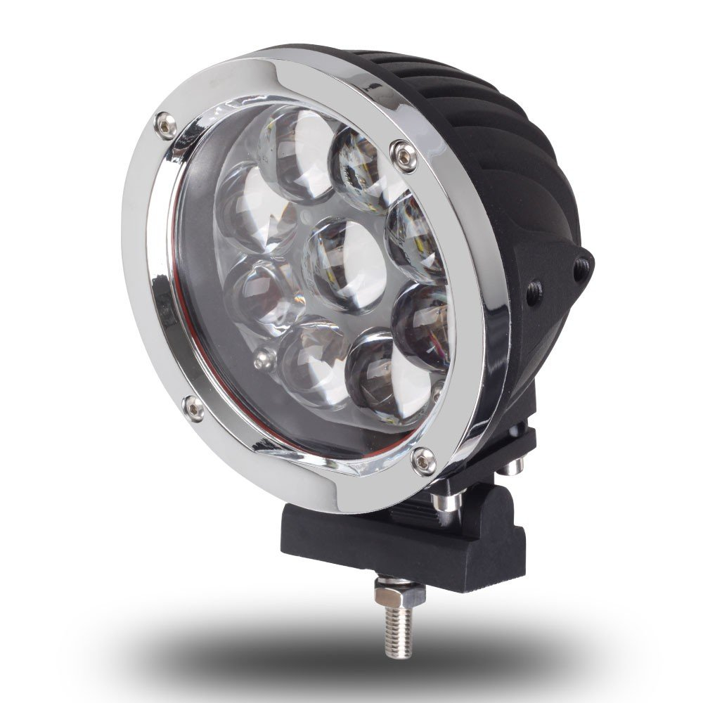 5.5INCH 45W CREE DRIVING OFFROAD LIGHTS SPOT FLOOD BEAM 12V 24V 4X4 CAR TRACTOR ATV LED WORK LIGHT