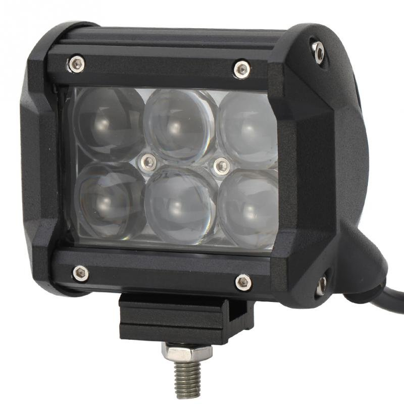 4inch 30W Osram LED Light Bar Flood Work Light 4WD ATV Off-road Driving Lamp