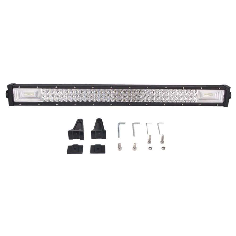 52'' inch 300W Straight Tri-Rows Led Light Bar Combo LED Driving Bar 12V24V Truck ATV 4X4 ledbar