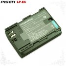Canon EOS 5D Mark II Mark2 7D Mark II LP-E6 Pisen Camera Battery Free Shipping