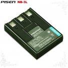 Canon IXY Digital 30A IXUS II IXY NB-3L Pisen Camera Battery Free Shipping