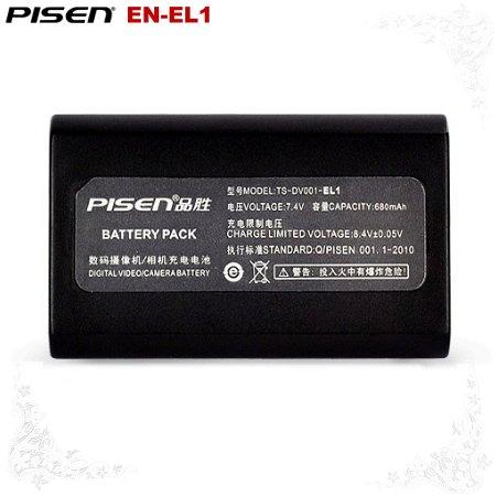 Pisen Nikon Coolpix Series 775 880 885 EN-EL1 Camera Battery Free Shipping