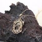 18k gold plated Allah Islamic Pendant & chain ! Arabic & Islam Jewelry & gift