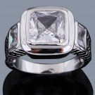 Fashion desaign 10k gold filled white sapphire man ring size 10 ! Gift & Jewelry