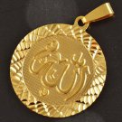Fashion 18K gold plated caption Allah Pendant Necklace ! Gift Jewelry & Love