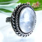 Silver 925 ring set natural Eilat stone gemstone size 9 ! high quality Jewelry