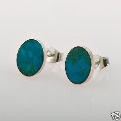 Fashion silver earrings set Eilat king solomon stone Israel ! quality jewelry