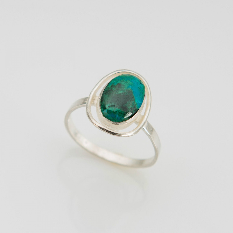 Fashion silver 925 ring & Eilat king solomon stone size 7.5 ! Gift & Jewelry
