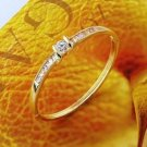 Fashion beautiful 18k GP Bangle zircons - bracelet ! Woman & Man gifts