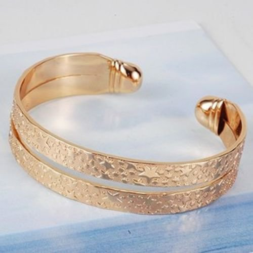 Unique design fashion 18k gold Plated Bangle , bracelet ! Gift Jewelry & Love