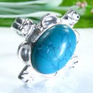 Beautiful fashion Turquoise silver 925 ring size 7 1/4 ! Gift Jewelry & Love