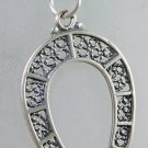 "Fashion silver 925 "" luck horseshoe "" & sterling necklace ! Gift Jewelry & Love"