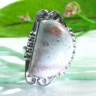 Pretty Jasper sterling stamp 925 ring size 6 1/2 ! Gift Jewelry & Love