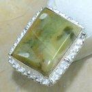 Elegant Fashion retro design Jasper silver ring size 7 ! Gift Jewelry & Love
