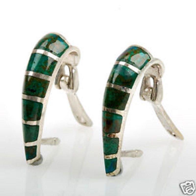 Sterling silver 925 fashion earrings set Eilat stone Israel - Jewlry Gift & Love