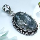 Ocesn jasper silver 925 pendant + sterling necklace ! Gift Jewelry and Love