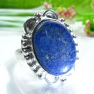 Beautiful Lapis lazuli silver 925 ring size 7 1/2 ! Gift Jewelry & Love