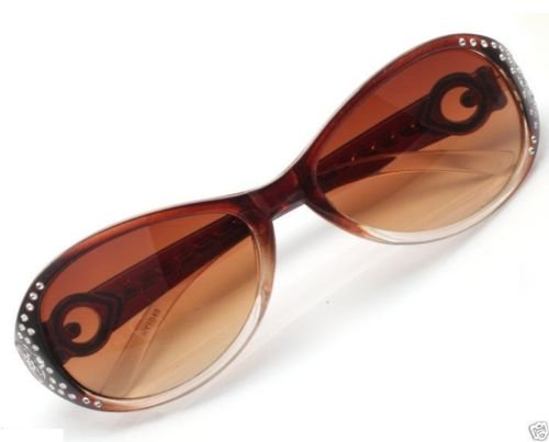 Fashion Spy Eyewear Retro Unisex Sunglasses Brown Frame ! Gift Jewelry & Love