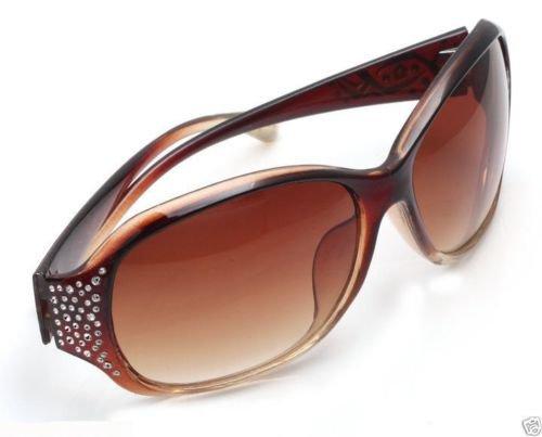Fashion Spy Eyewear Retro Unisex Sunglasses Brown Frame ! Gift Jewelry & Love