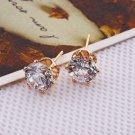 Elegant Fashion 18K Gold Plated Set Cubic Zircon Earrings ! Gift Jewelry & Love