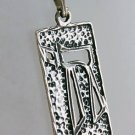"""Silver pendant """"live"""" hebrew & sterling 925 necklace ! Gift Jewelry & Love"""