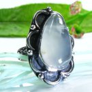 Special natural Agate silver 925 ring size 7 1/4 ! Gift Jewelry & Love