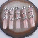 1pc Fashion silver 925 necklace & dragon roze quartz pendant ! Gift & Jewelry