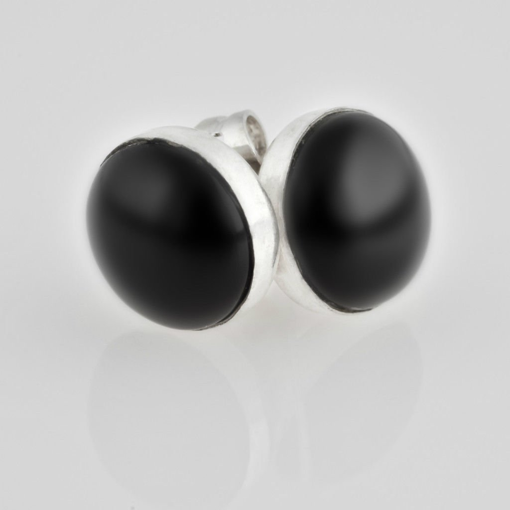 Beautiful fashion silver 925 earrings set Onyx stone ! Gift Jewelry & Love