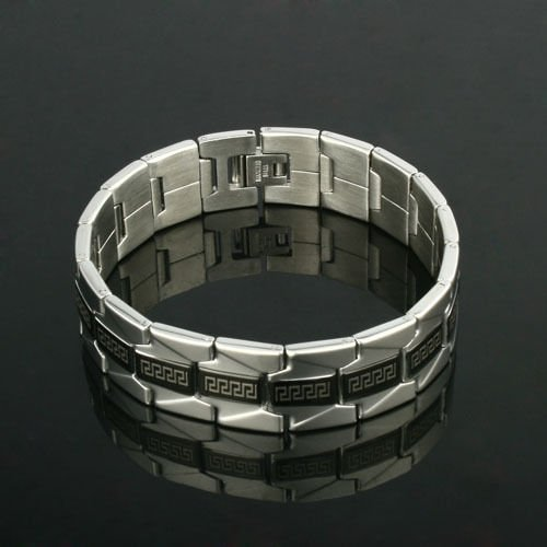 Elegant Pretty Stainless Steel Man Bracelet high quality ! Gift Jewelry Store