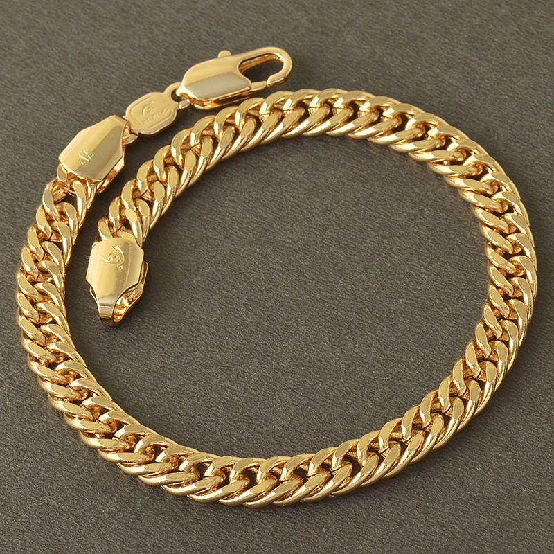 Fashion design elegant 9k real gold filled bracelet bangle ! Gift & Jewelry