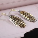 24k Gold Plated Fashion elegant Cubic Zircons Earrings ! Gift Jewelry & Love