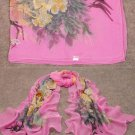 Fashion Accessory pink Women Long Style Silk-like Scarf ! Gift Jewelry & Love