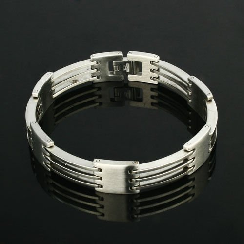 Elegant Fashion Stainless Steel Man Bracelet High Quality ! Gift Jewelry Store