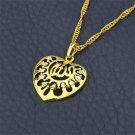 Fashion 18k gold plated allah Islam Pendant and necklace ! Arabic Islam jewelry