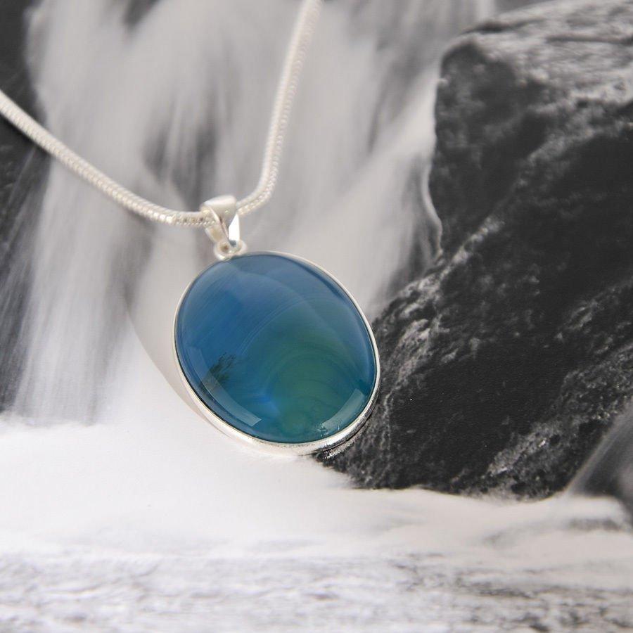 Fine fashion silver dangle earrings set iolite gemstone ! Gift Jewelry & Love