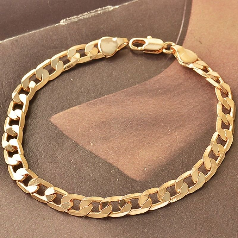 Fashion design elegant 9k rose gold filled bracelet bangle ! Gift & Jewelry