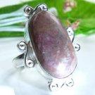 Fine fashion Jasper silver stamp 925 ring size 8 1/2 ! Gift Jewelry & Love