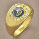 Fashion real gold filled allah islam man & woman ring size 9 ! Gift & Jewelry