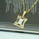 Special fashion 18k gp Allah Islamic Pendant and chain ! Islam Gift & jewelry