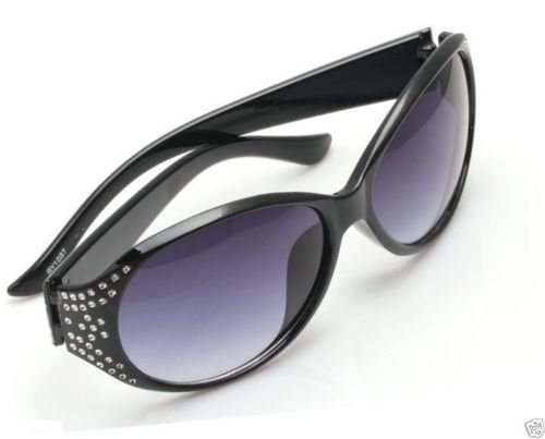 Fashion Spy Eyewear Retro Unisex Sunglasses Black Frame ! Gift Jewelry & Love