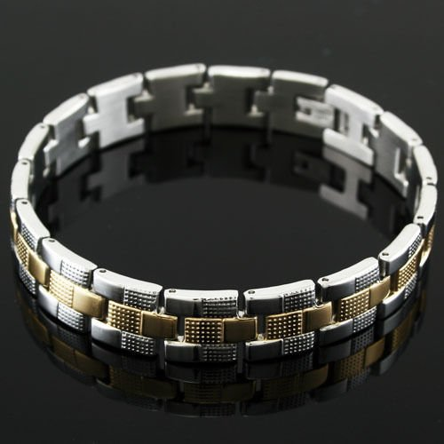 """beautiful elegant man 8.46 """" Stainless Steel Bracelet ! Gift Jewelry and Love"""