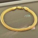 Fashion snake design 9k real gold filled bracelet bangle ! Gift Jewelry & Love